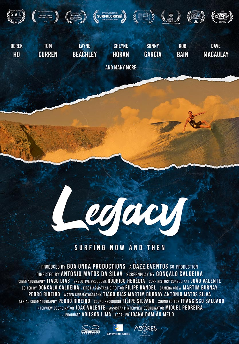 Legacy - Surfin Now and Then